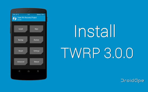 TWRP 3 0 – Roms,Recovery,Root,Kernels,Mods and much more…